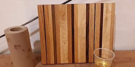 Make your own cutting board workshop tickets