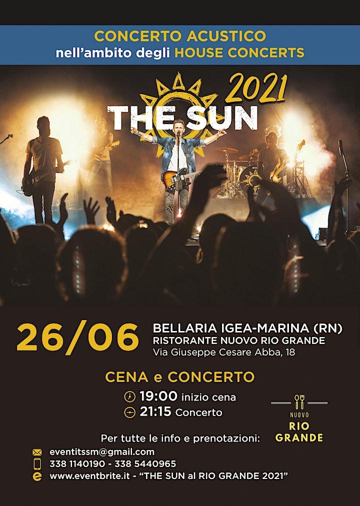 Immagine THE SUN al RIO GRANDE 2021