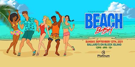 Beach Bash 2021 tickets