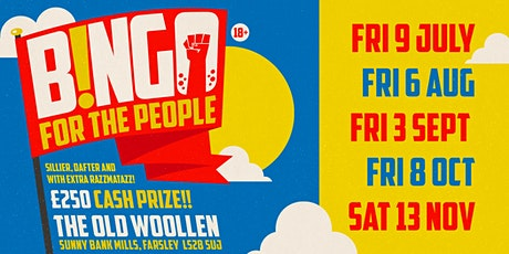 Bingo For The People! 9 July - 6 August tickets