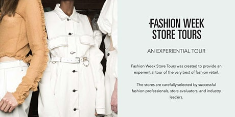 Fashion Week Store Tours - New York City - September 7, 2021 tickets