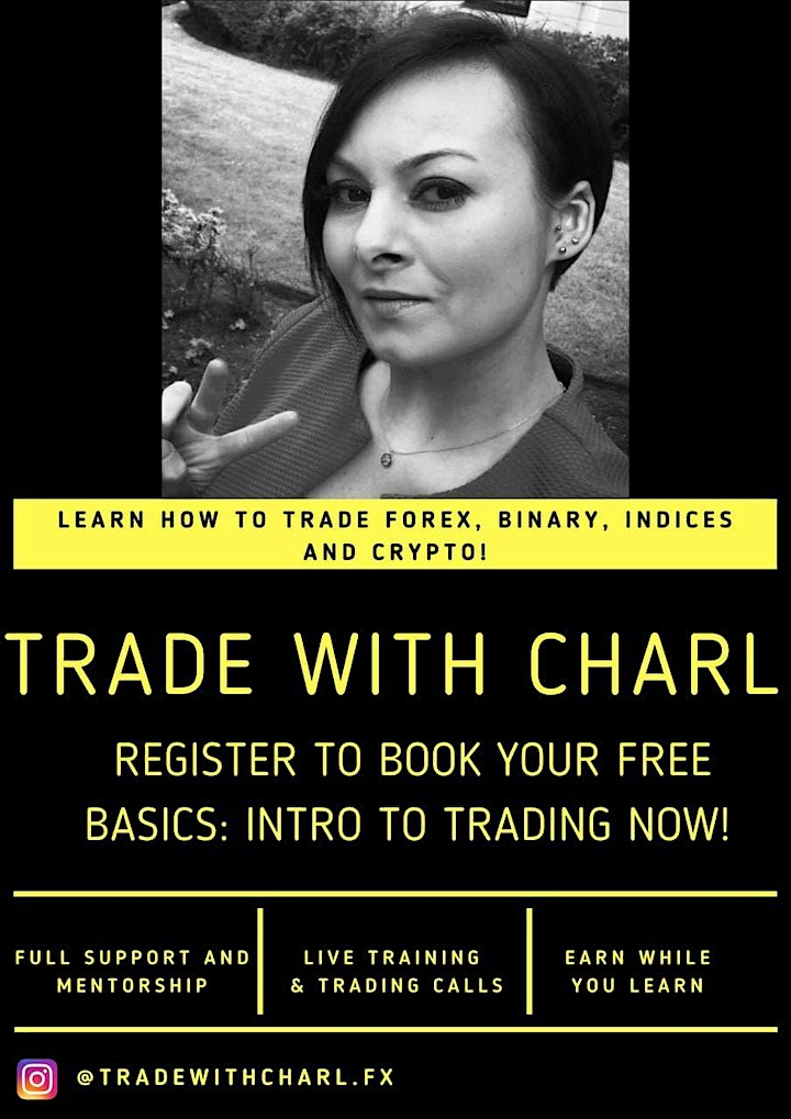 Intro to Forex, Binary, Indices & Crypto for Beginners! (1:1 VIRTUAL EVENT) image
