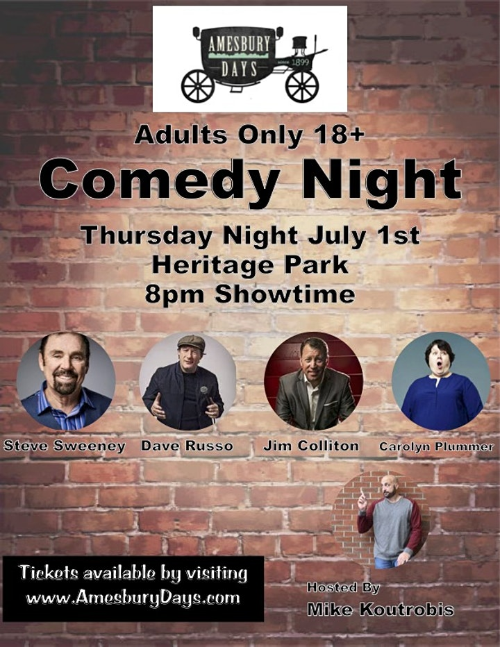 Amesbury Days Comedy Night! image