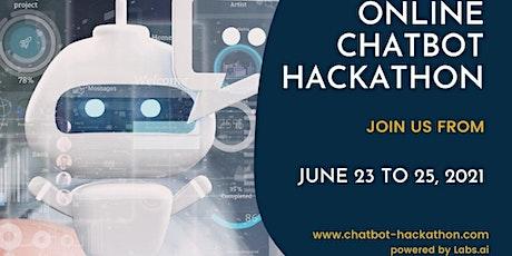 Online Chatbot Hackathon tickets