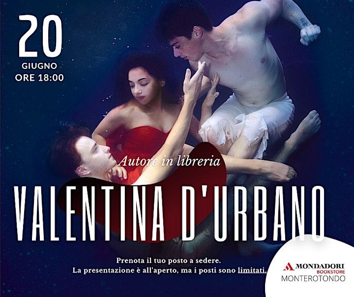 Immagine Valentina D'Urbano   Autore in libreria