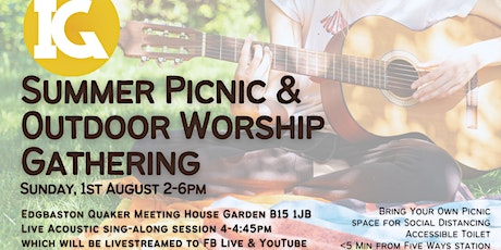 August Inclusive Gathering - Summer Picnic & Outdoor Worship tickets