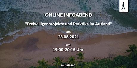 Virtuelles Event: Freiwilligenprojekte und Praktika im Ausland Tickets