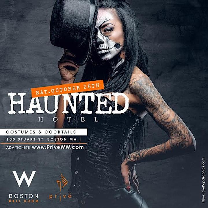 Haunted Hotel @ W Hotel Boston image