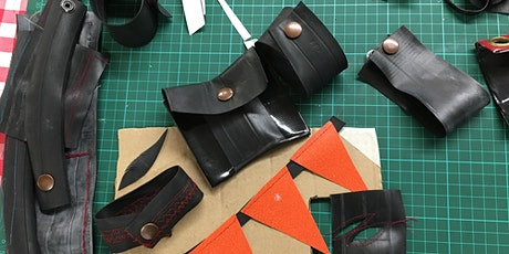 Experimental upcycling workshop with Roobedo tickets