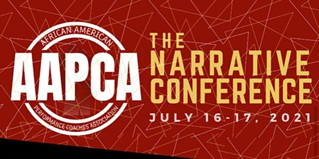 """AAPCA  1st Annual Conference """"THE NARRATIVE"""" tickets"""