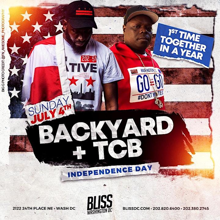 Backyard & TCB - Independence Day image