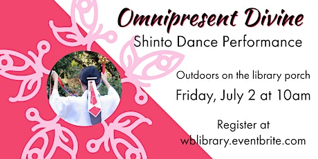 Omnipresent Divine: Japanese Shinto Dance Performance tickets