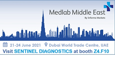 APPOINTMENT BOOKING FOR MEDLAB MIDDLE EAST - 21-24th JUNE 2021 tickets