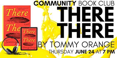 Community Book Club June tickets