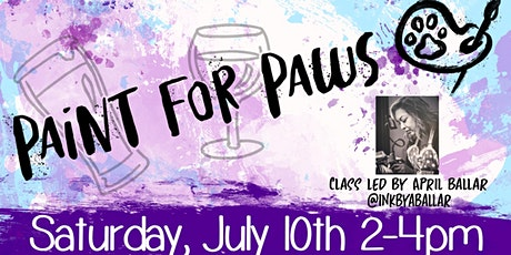 Paint For Paws - A Fundraiser for FAAS (Friends of Alameda Animal Shelter) tickets
