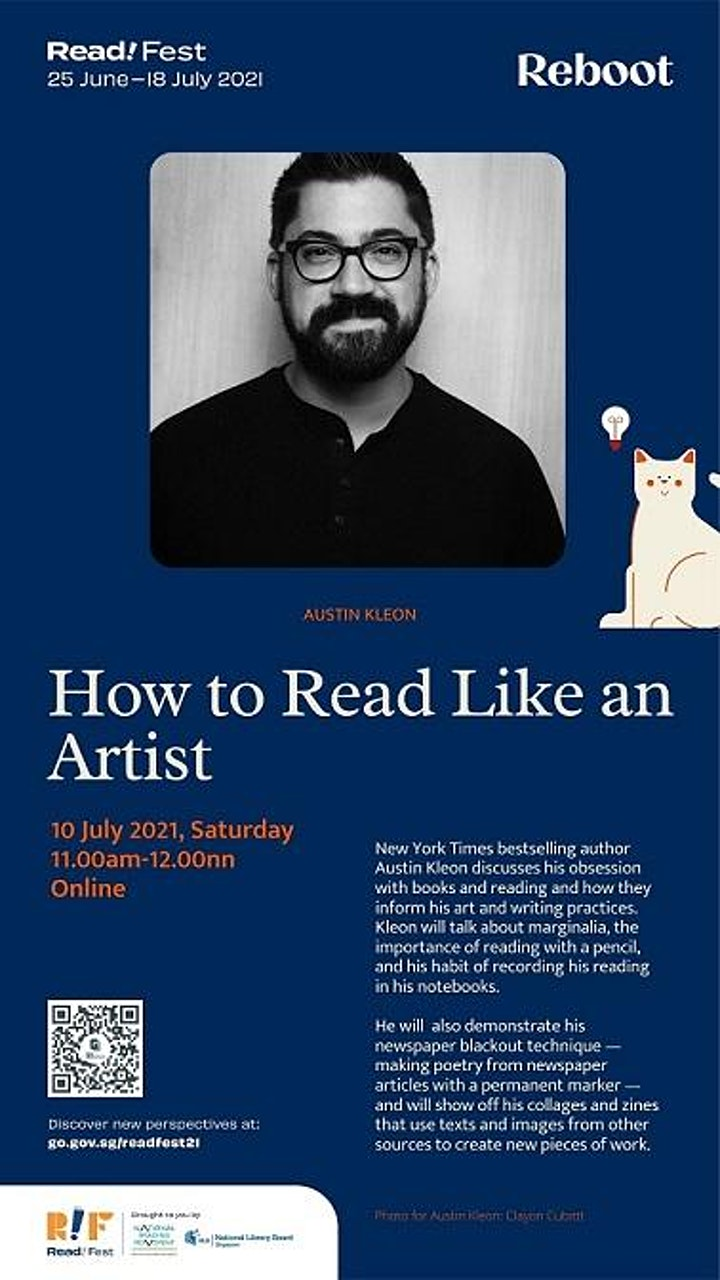 How to Read Like an Artist | Read! Fest image