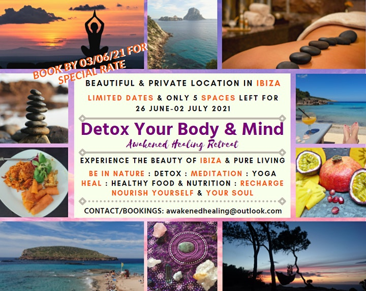 Detox Your Body & Mind - Awakened Healing Retreat 2