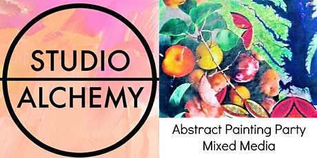 Abstract Painting Party Sunday July 25 tickets