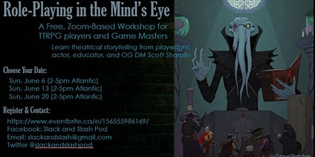 Role-Playing in the Mind's Eye tickets