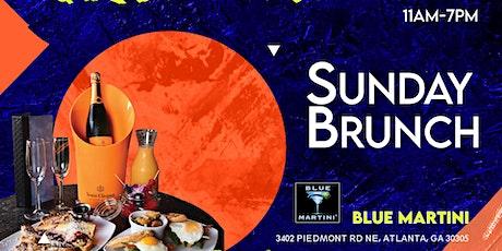 Sunday Brunch at Blue Martini tickets