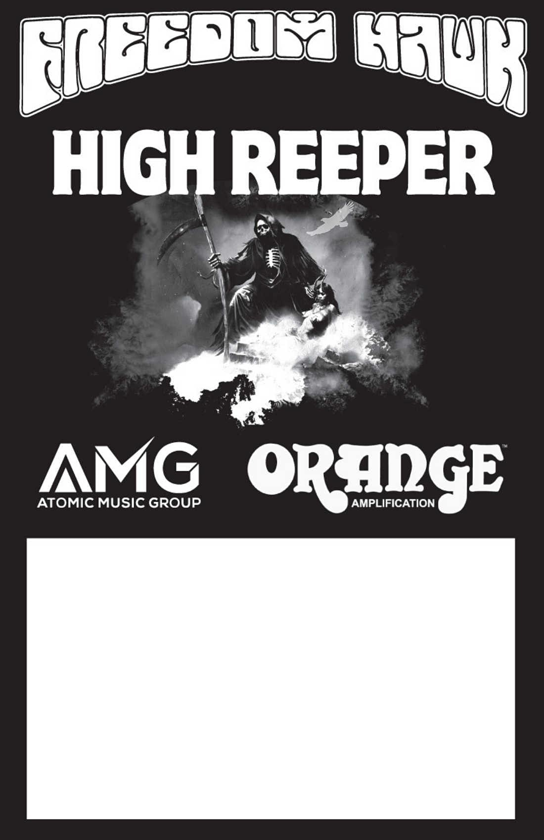 Freedom Hawk, High Reeper, Royal Graves, and The Dark Arctic in Orlando at Will's Pub