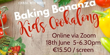 Baking Bonanza Kids Cookalong tickets