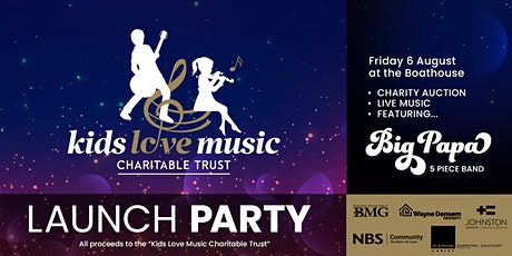 Kids Love Music Charitable Trust Launch Party tickets