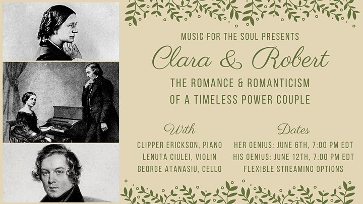 Clara & Robert: The romance and Romanticism of a timeless power couple image