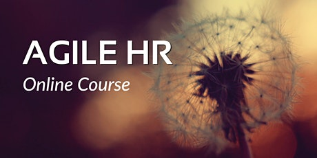 Agile HR Online Course ingressos