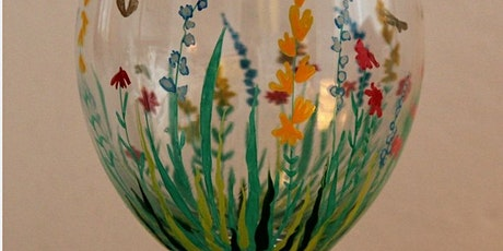 Pour & Paint Flowers on Wine Glasses tickets