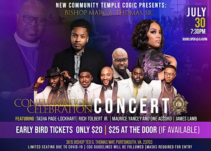 Confirmation Celebration Concert image