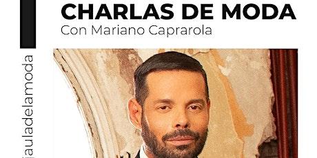 CHARLAS DE MODA boletos