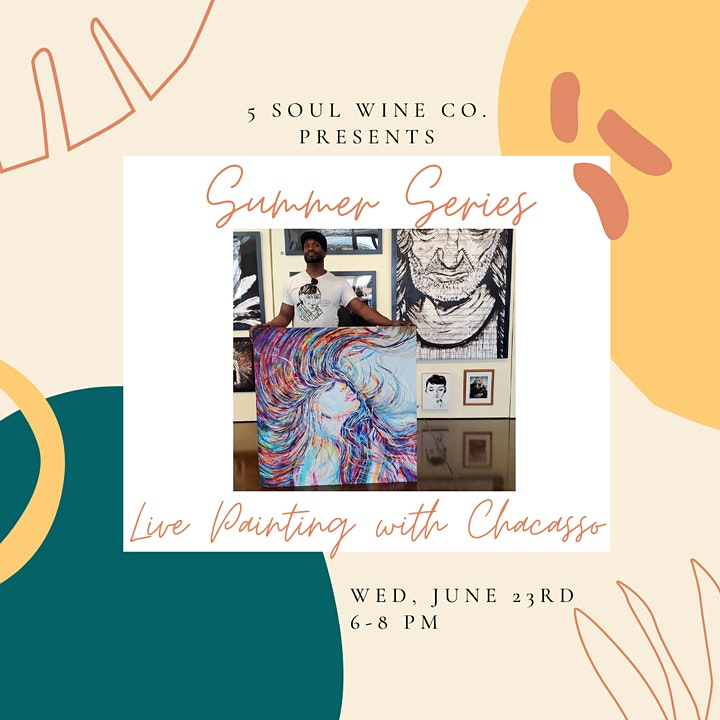 Summer Series - Live Painting with Chacasso image