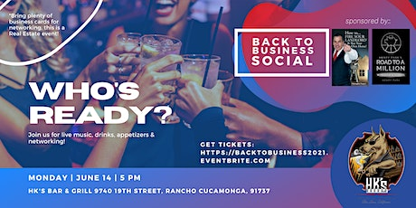 Mixer!  End of Covid - Back to Business Real Estate Social tickets
