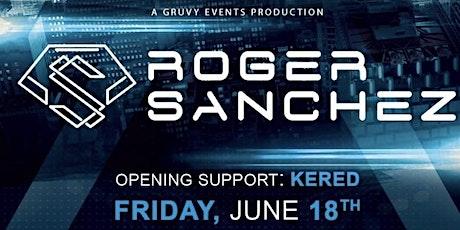ROGER SANCHEZ Surrender at SOHObar Sono tickets