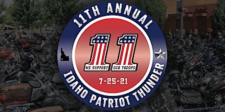 11th Annual Idaho Patriot Thunder Ride tickets
