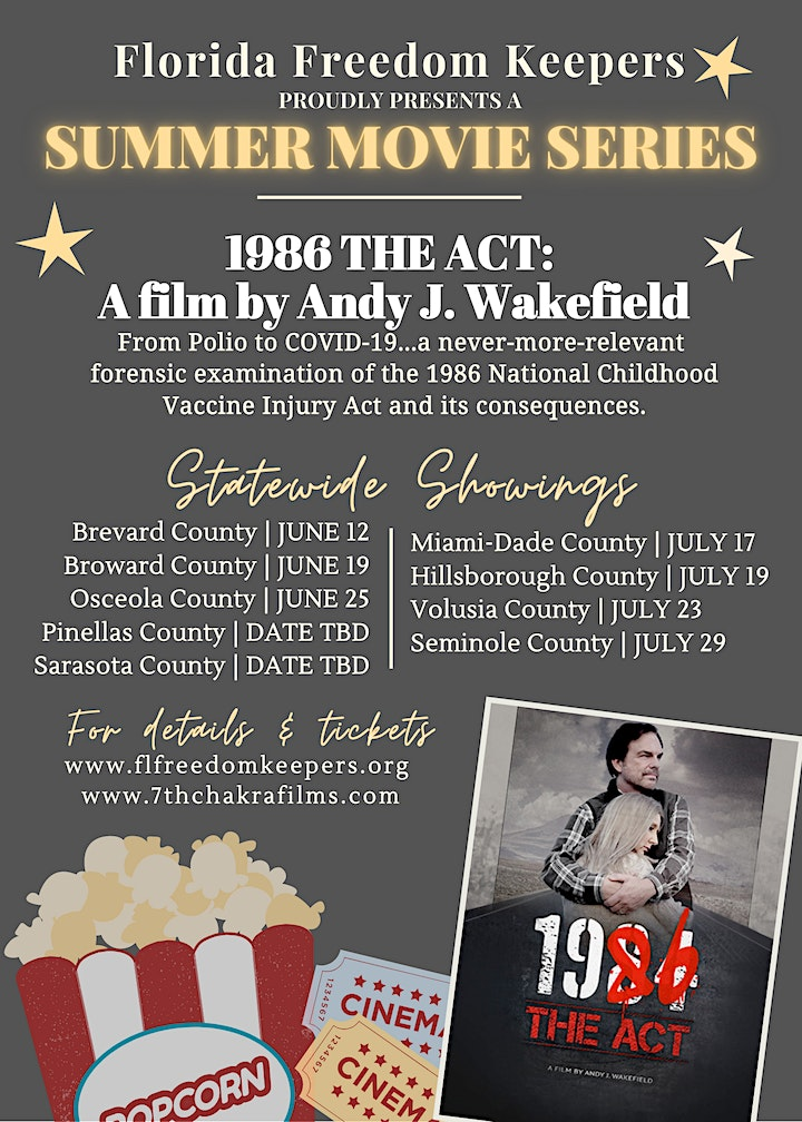 FFK's Summer Movie Series - 1986: The Act (OSCEOLA COUNTY) image