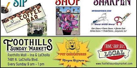 Foothills Sunday Markets tickets