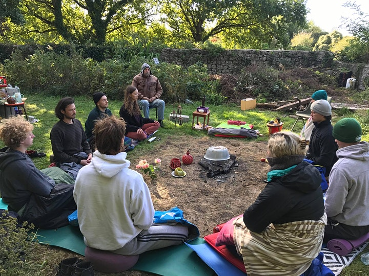 Young persons' Retreat at Serene Valley, Wales. image