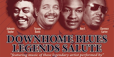 """DOWN HOMES BLUES LEGENDS SALUTE Presents by CoDay Records """"LIVE""""@ the PWCC tickets"""