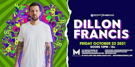 DILLON FRANCIS Live at the Metropolitan - Friday, October 22, 2021 tickets