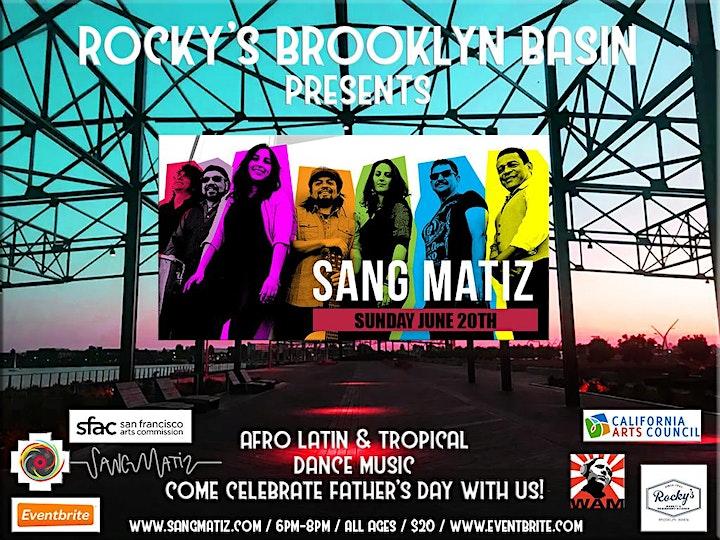 Sang Matiz Live @ Rocky's Brooklyn Basin! ~ June 20, 2021 image