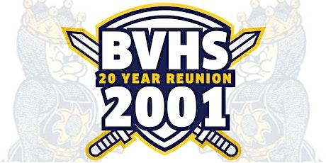 Bonita Vista High Class of 2001 20 Year Reunion  // 21+ Event boletos