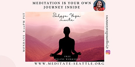 Seattle - Mondays Free Guided Yoga Meditation Experience Inner Peace tickets