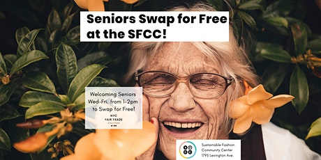 Seniors Swap for Free at the SFCC! tickets
