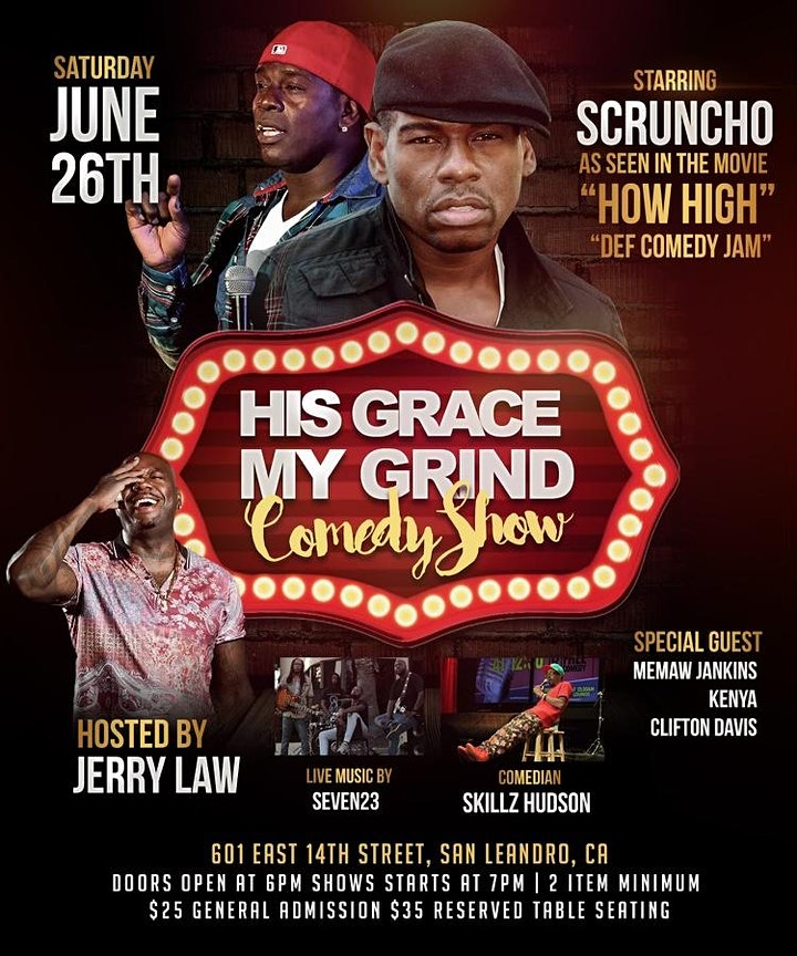 His Grace my Grind Comedy Show image
