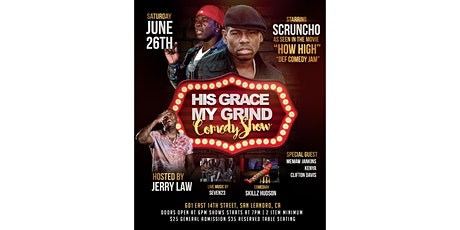 His Grace my Grind Comedy Show tickets