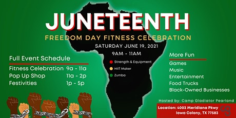 Juneteenth Freedom Day Fitness Celebration tickets