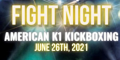 Fight Night Nashville American K1 Kickboxing tickets