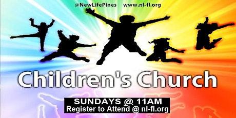 CHILDREN'S Church Service at 11am tickets